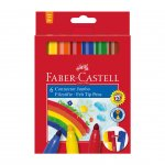Faber-Castell Флумастери Jumbo, 6 цвята