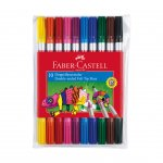 Faber-Castell Флумастери, двойни, 10 цвята
