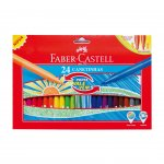 Faber-Castell флумастери Cushion 24 цвята