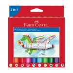 Faber-Castell Флумастери-печати, 10 цвята