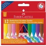 Faber-Castell Пастели Jumbo Grip, 12 цвята