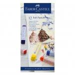 Faber-Castell Пастели Goldfaber, сухи, Soft, 12 цвята