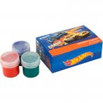Темперни бои Kite Hot Wheels 6 цвята, 20 ml