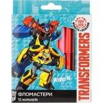 Флумастери Kite Transformers 12 цвята в кутия