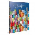Gipta Candy Тетрадка А5, бяла, широки редове, PP корица, 60 листа