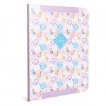 Gipta Safari Тетрадка А4, бяла, малки квадратчета, картонена корица, 60 листа