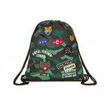Sprint спортна торба camo green badges