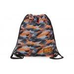 Спортна торба coolpack - sprint line - camo mesh orange