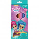 Цветни моливи Kite Shimmer&Shine 12 цвята