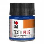 Marabu Боя за текстил Плюс 50 ml, 055, тъмен ултрамарин