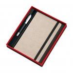Gipta Тефтер, 13 x 21 cm, с химикалка Master Set, в кутия