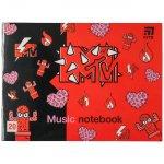 Нотна тетрадка Kite MTV-2 A5 20 л.