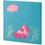 Бележник Kite Lovely Sophy 165x165 80 л. Бял
