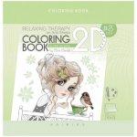 Книжка оцветяване Antistress 200x200 брокат 20 л.