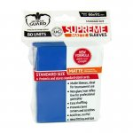 Немски протектори ug - ultimate guard supreme sleeves matte 66x91 (63.5x88 lcg) - 80 бр. сини