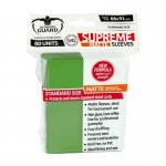 Немски протектори ug - ultimate guard supreme sleeves matte 66x91 (63.5x88 lcg) - 80 бр. зелени