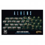 Aliens: Assets and hazards miniatures