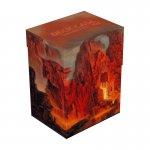 Кутия за карти - ultimate guard deck case lands edition ii (за lcg, tcg и др) 80+ - mountain