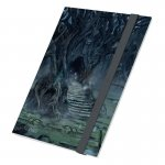 Класьор за карти - ultimate guard flexxfolio lands edition ii swamp 18-pocket 360 cards (за lcg, tcg и др) - swamp