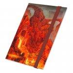 Класьор за карти - ultimate guard flexxfolio lands edition ii mountain 18-pocket 360 cards (за lcg, tcg и др) - mountain